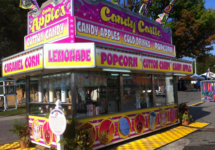 Candy Castle Concession Wrap